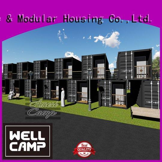 houses made out of shipping containers panel fireproof WELLCAMP Brand