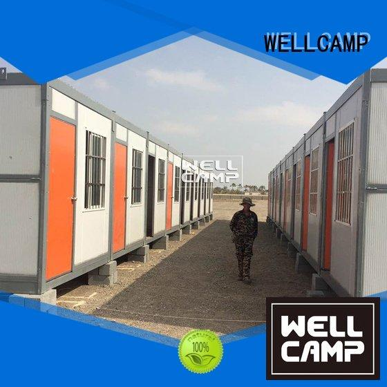 economic worker modern WELLCAMP foldable container house