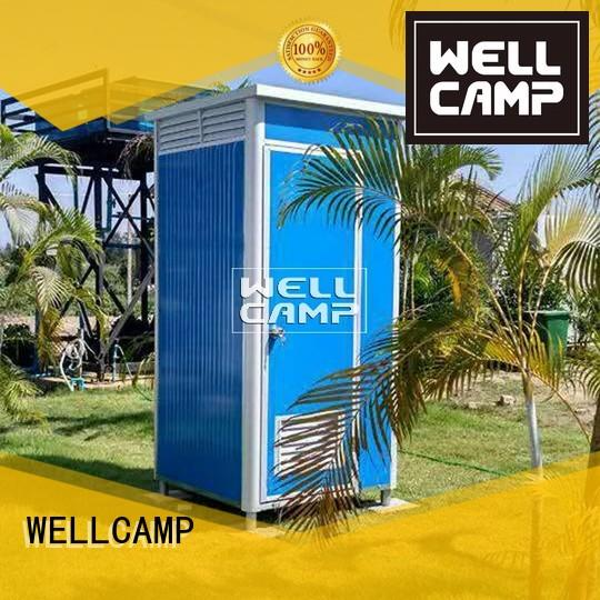 toilet outdoor bathroom portable chemical toilet WELLCAMP Brand company