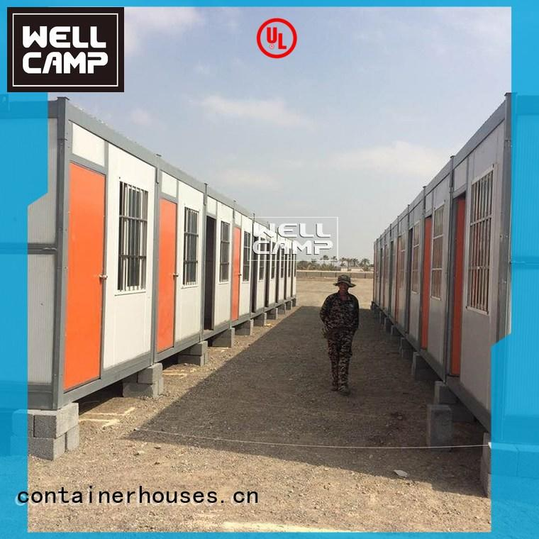 labor modern foldable container prefab WELLCAMP Brand company