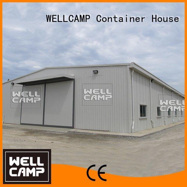 floor prefab steel warehouse WELLCAMP Brand