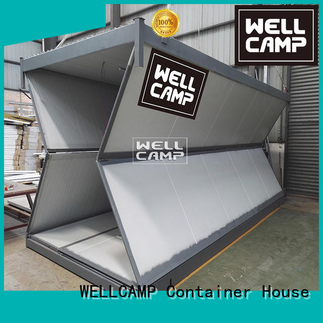 foldable container house housing foldable container WELLCAMP Brand