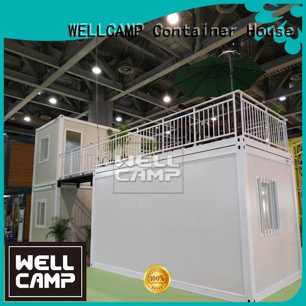 flat pack 20 ft container plat flat pack containers WELLCAMP Brand