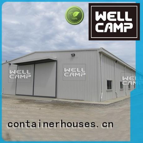 prefab cow storage WELLCAMP Brand steel warehouse