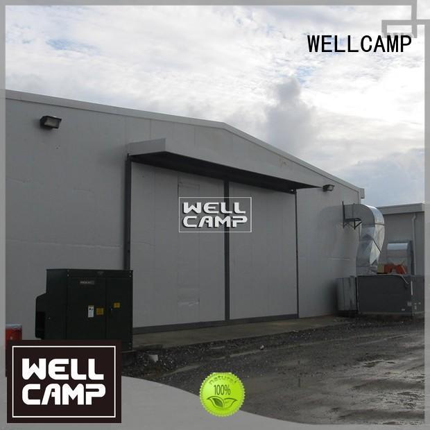 WELLCAMP Brand preengineered canteen steel steel chicken farm eps