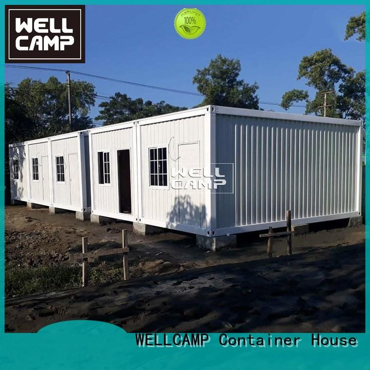WELLCAMP Brand easy panel eco container house for sale manufacture