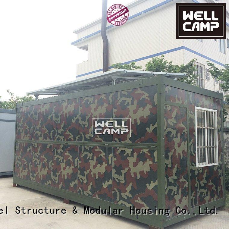 foldable container house container worker low system WELLCAMP