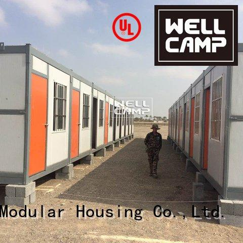 foldable container house labor solar foldable container WELLCAMP Brand