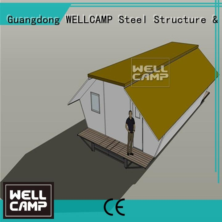 WELLCAMP Brand dormitory house family expandable shipping container home student