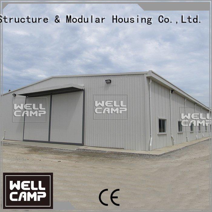 pouitry farm steel warehouse workshop WELLCAMP