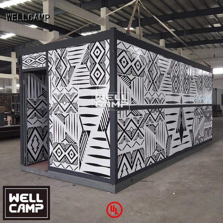 WELLCAMP design foldable container worker colour