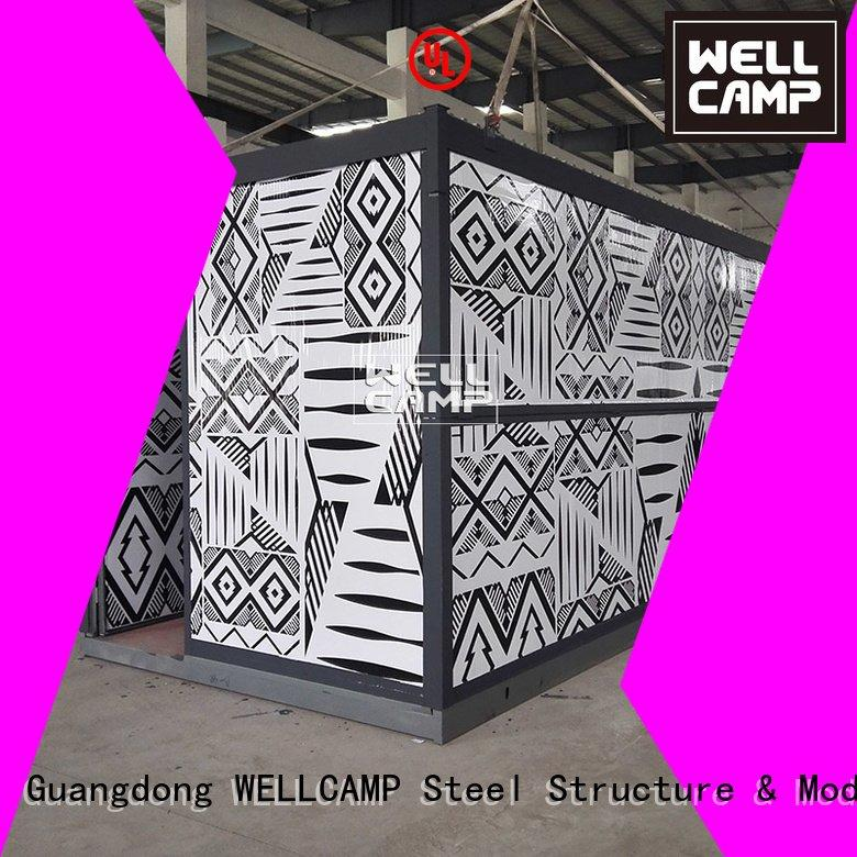system cost foldable container workshop WELLCAMP