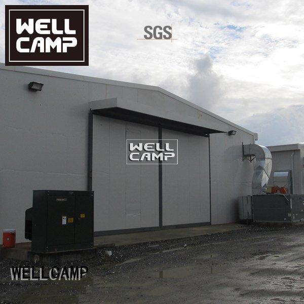 WELLCAMP light sheet steel warehouse largespan prefab