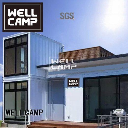 custom container homes floor WELLCAMP Brand container villa
