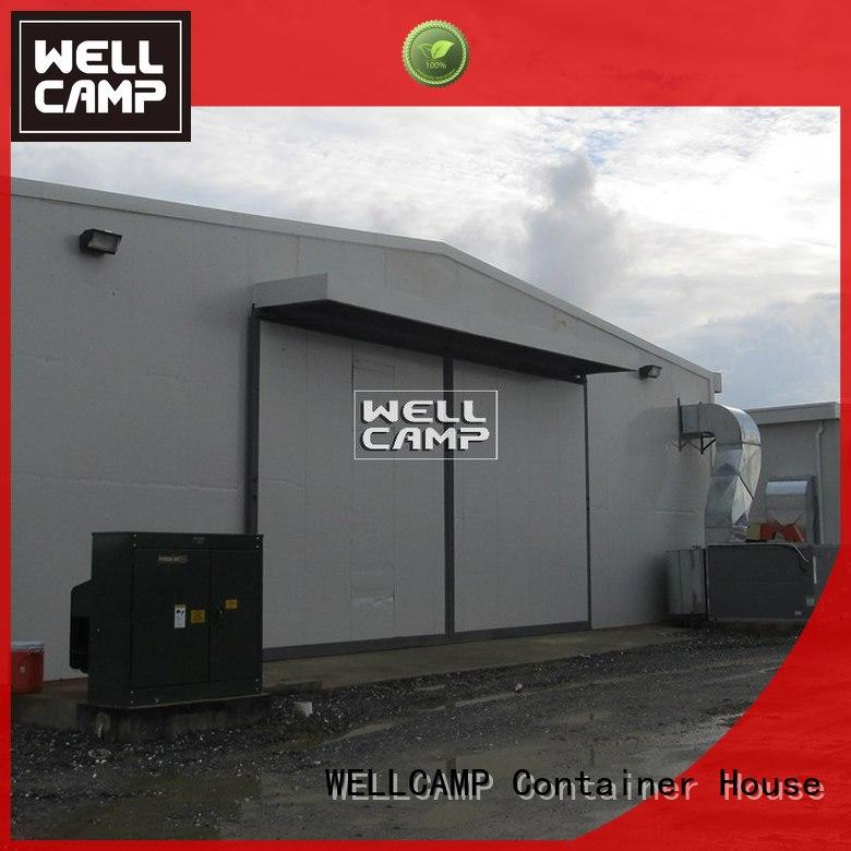 Quality WELLCAMP Brand prefab steel warehouse