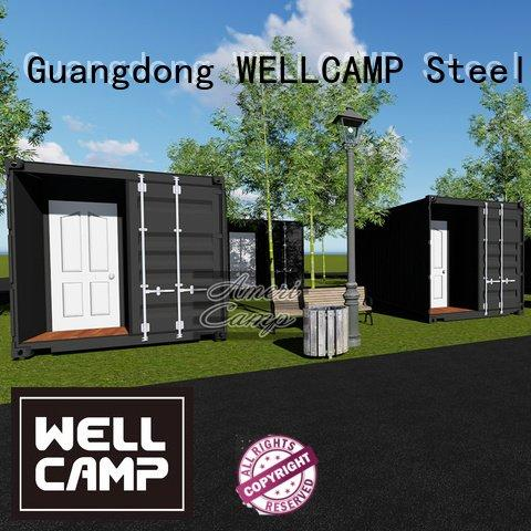 sandwich shipping container home builders building 20gp WELLCAMP