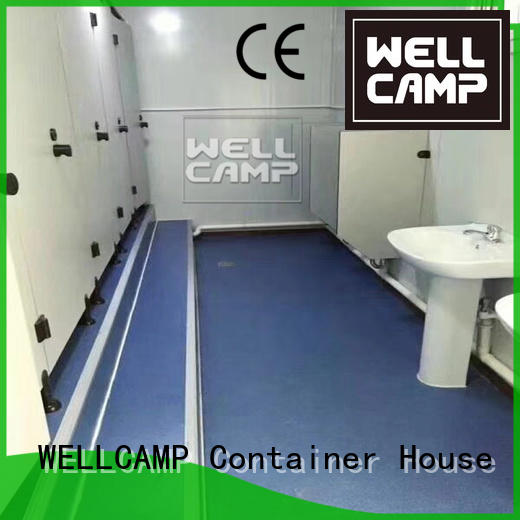 flat fireproof garden OEM flat pack containers WELLCAMP