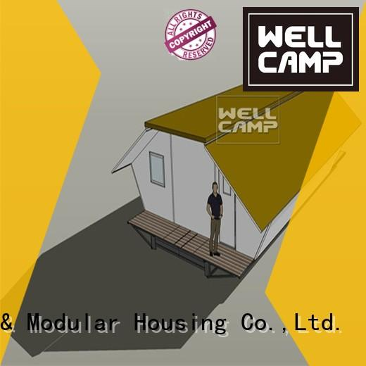 WELLCAMP Brand dormitory expandable shelter expandable container house