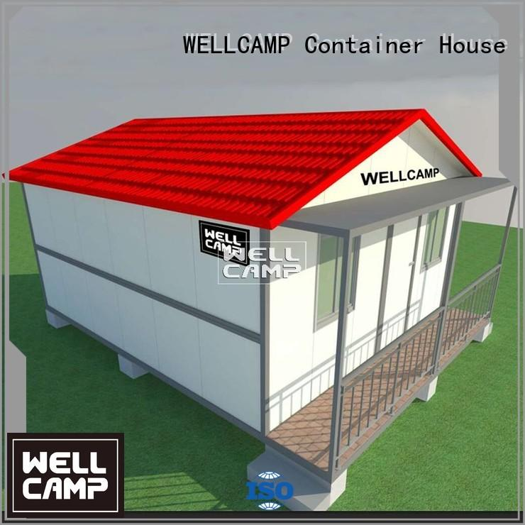 fllor esay three WELLCAMP Brand custom container homes factory
