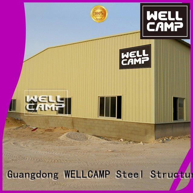 eps steel warehouse WELLCAMP steel chicken farm