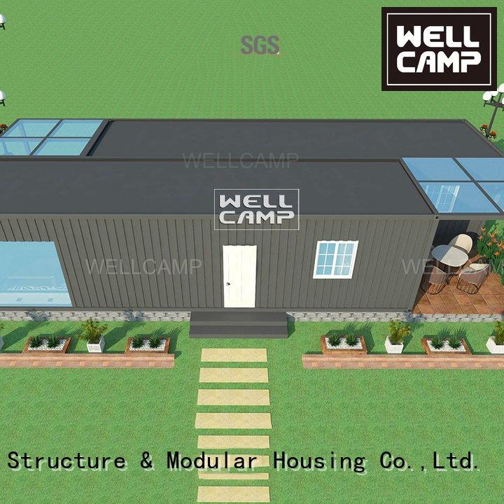 home panel WELLCAMP custom container homes