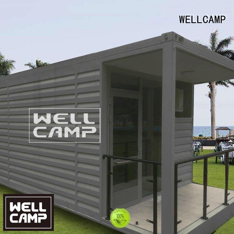 WELLCAMP Brand security shipping guard security booth for sale