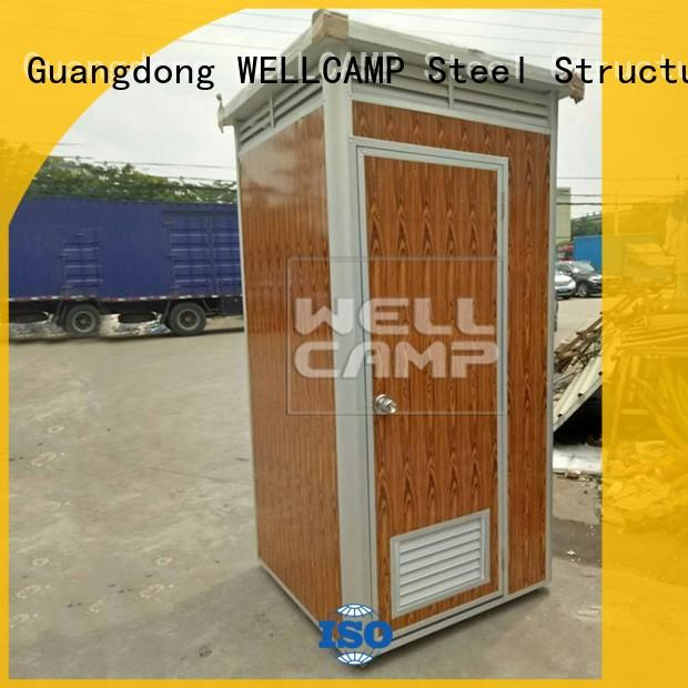WELLCAMP Brand mobile sandwich custom plastic portable toilet
