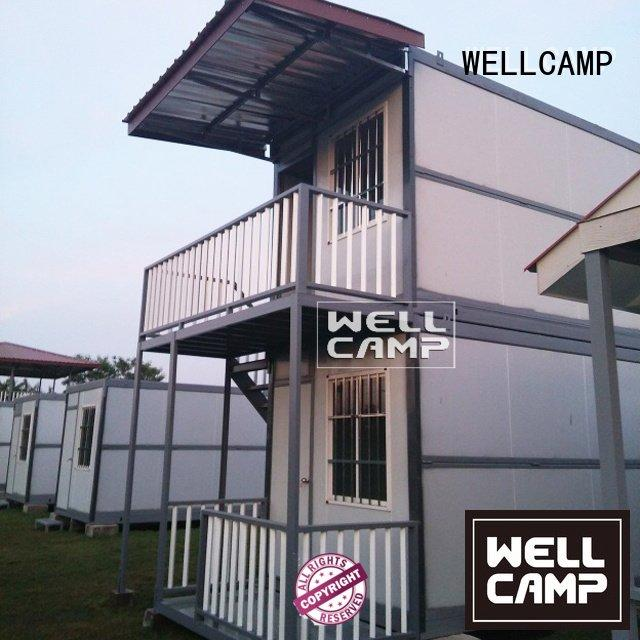 WELLCAMP Brand wool ecofriendly custom container homes kit fireproof