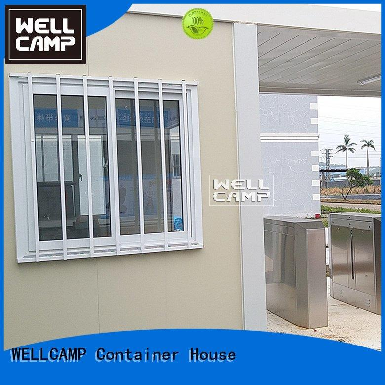 Wholesale garden steel flat pack containers WELLCAMP Brand