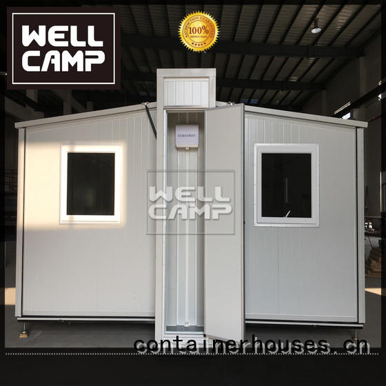 expandable shipping container home container dormitory Bulk Buy shelter WELLCAMP