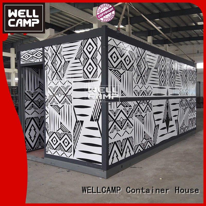 worker labor foldable container WELLCAMP