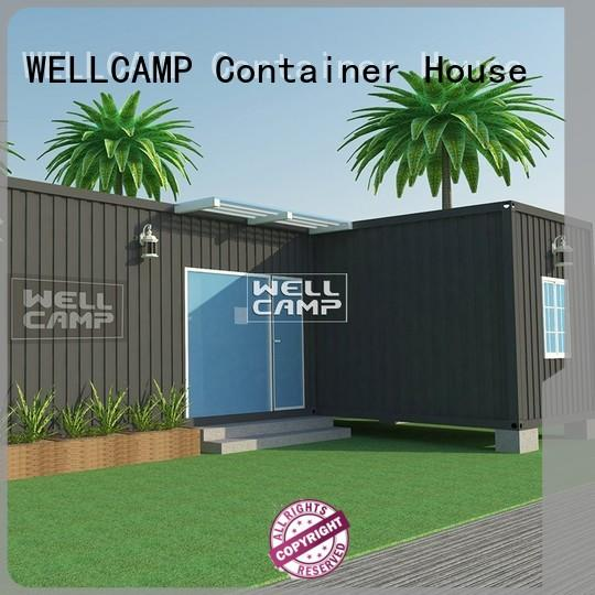 home kit modern custom container homes WELLCAMP manufacture