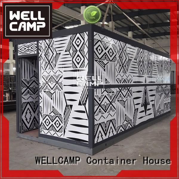 electrical office foldable container house WELLCAMP Brand