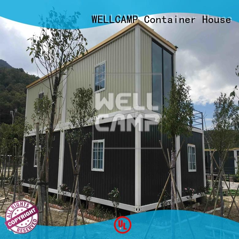 detachable living container villa house WELLCAMP company