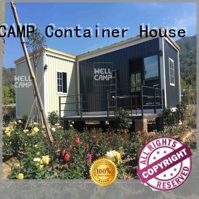 temporary stacks WELLCAMP Brand custom container homes