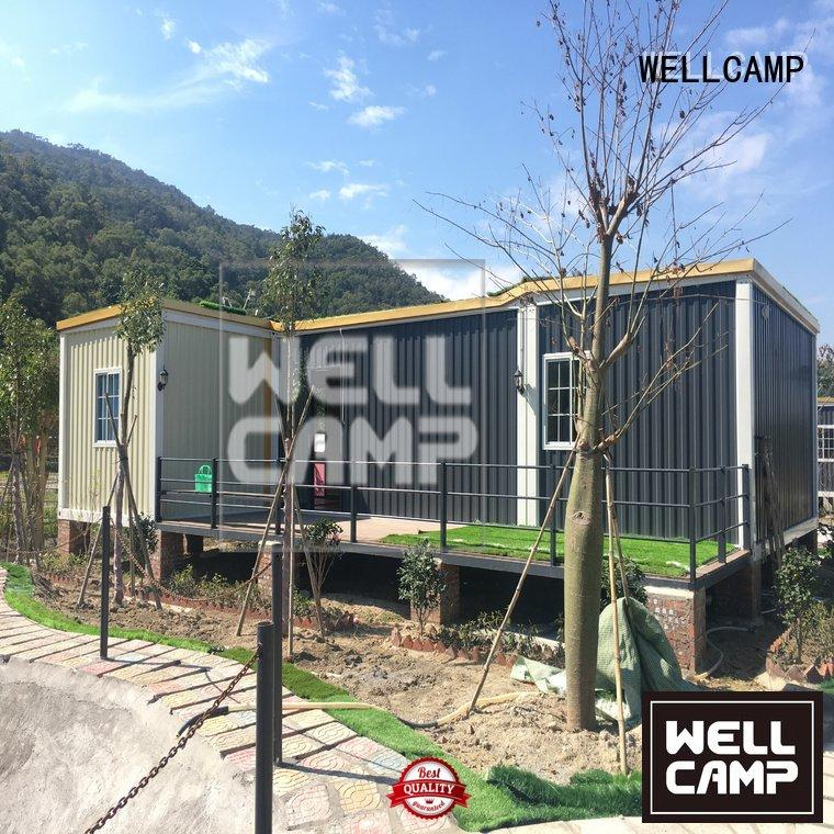 installation levels ieps WELLCAMP custom container homes