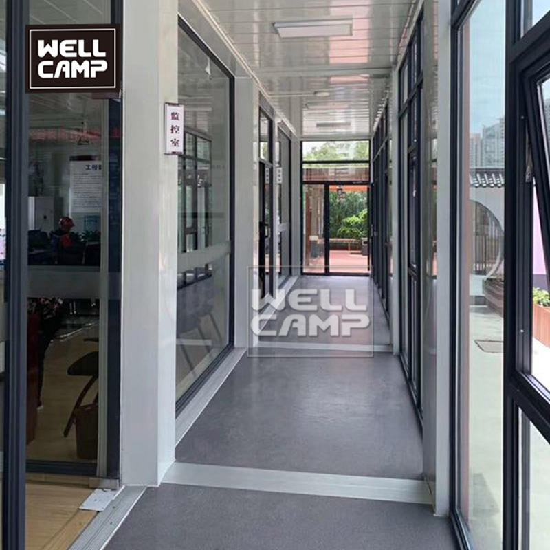 U style flat pack container house for villa and three floors modular house for homes vacation apartment for sale