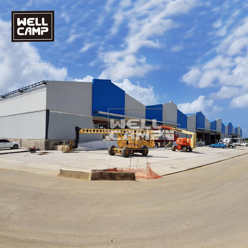 More than 10000 sqm steel structure for Mitsubishi Japan project in South America