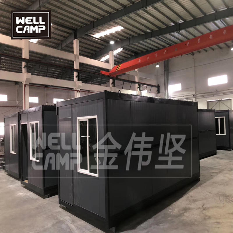 2019 WELLCAMP Folding container house is Germany for dormitory and office