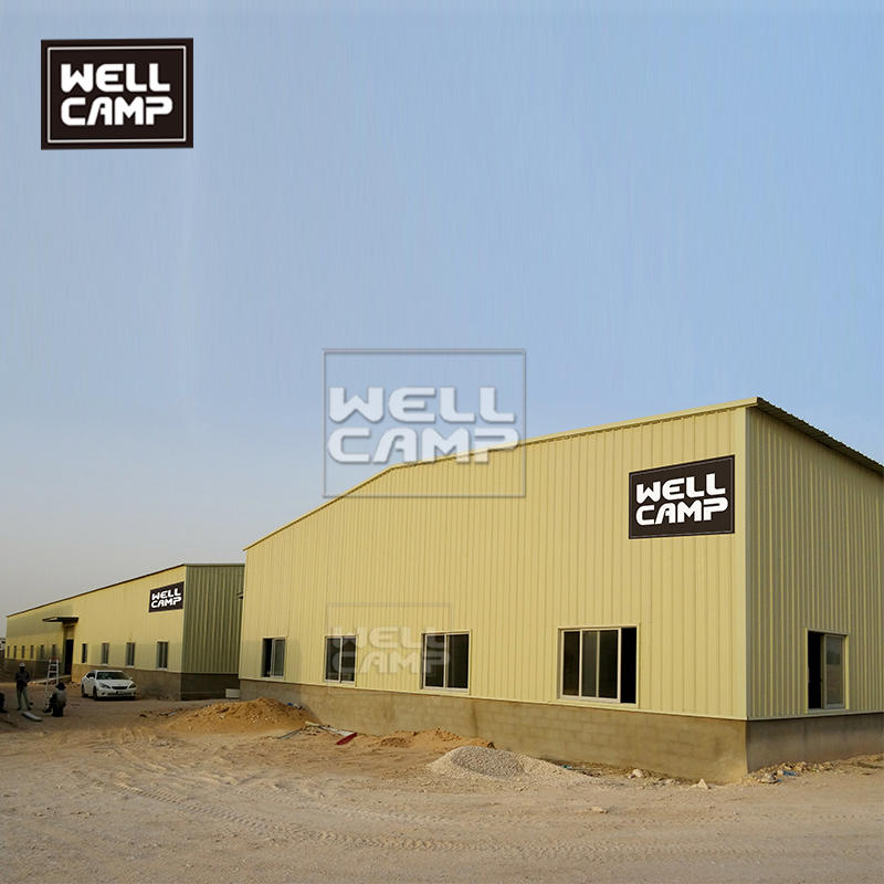 Customized steel structure workshop in Middle East for local government project