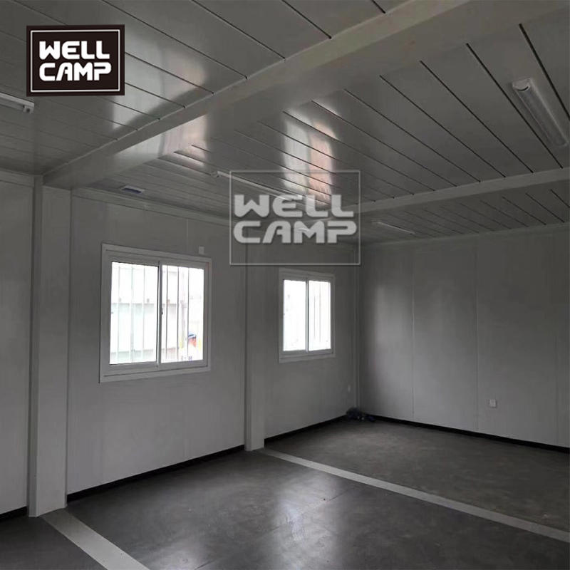 Welclamp economical container school  mobile flat pack container house for classroom project in Africa