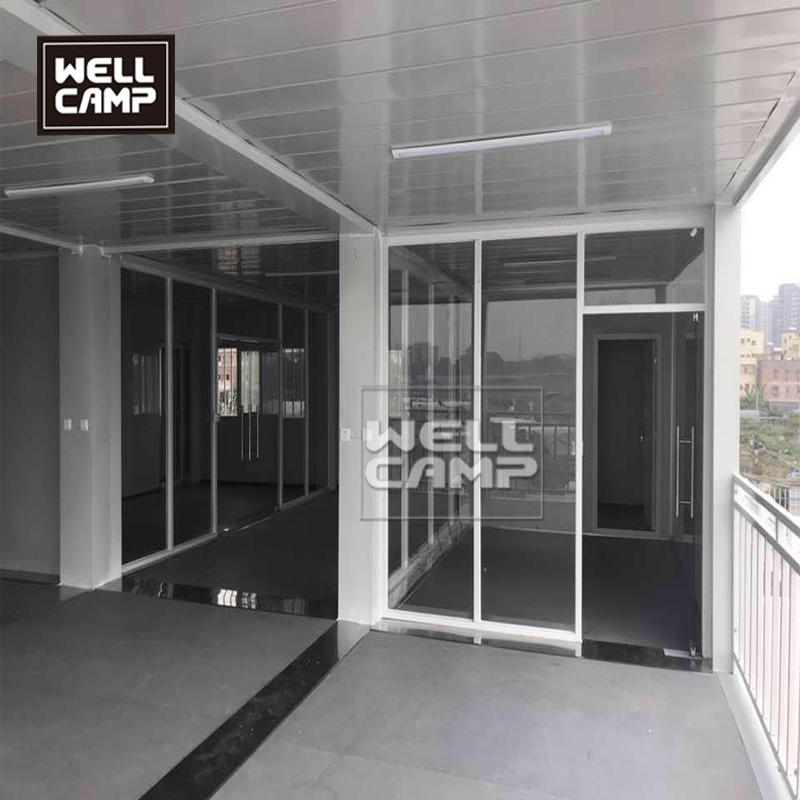 Prefabricated Building Steel Structure Modular Apartment Flat Pack Container House