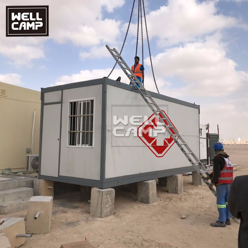 video-Folding Container Hospital Clinic isolation room-WELLCAMP-img