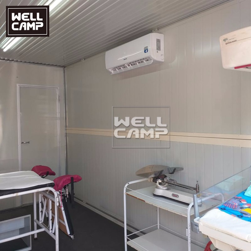 video-Folding Container Hospital Clinic isolation room-WELLCAMP-img-3