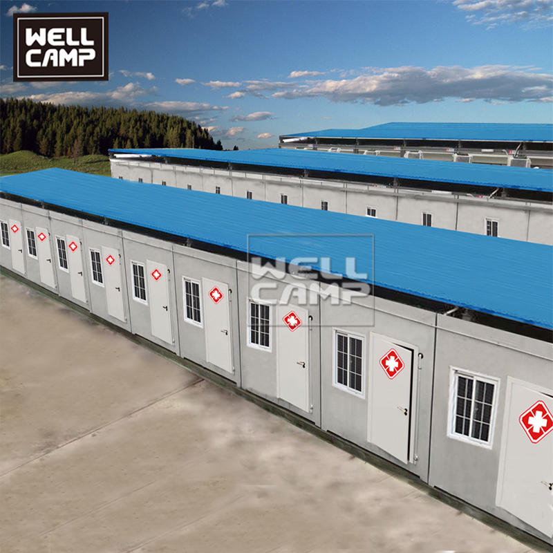 Flat Pack Container House For Hospital & Clinic & Isolation Room