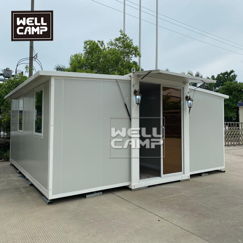 Expandable container house in low price with luxury design 4 steps 2 hours install 1 house