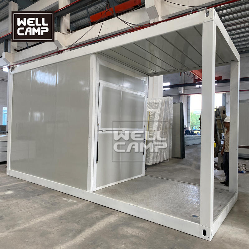 Wellcamp Container Shop New Design For Middle East Project