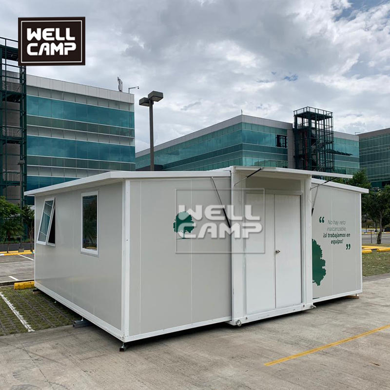 Wellcamp Expandable Container Houses In Costa Rica For Government Project