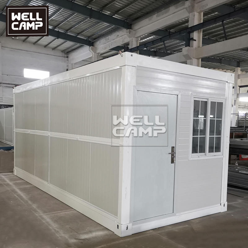 Folding Flat Pack Container House In Prefab House Price 20ft Expandable Container home