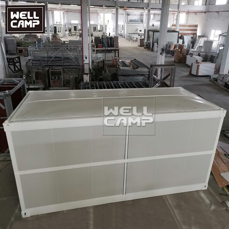 product-WELLCAMP-Folding Flat Pack Container House In Prefab House Price 20ft Expandable Container h